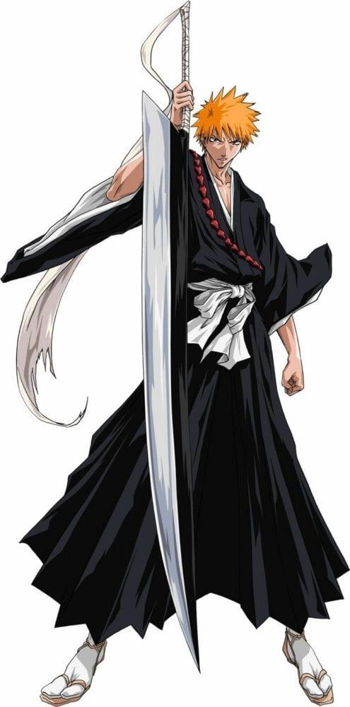 Ichigo Kurosaki from Bleach Anime