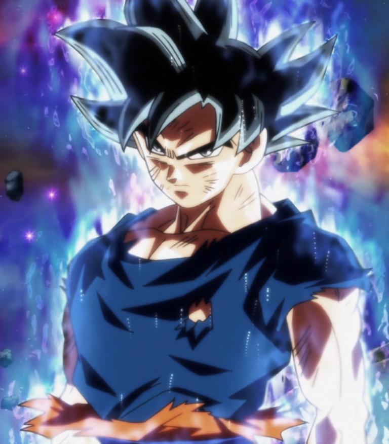 Goku Incomplete Ultra instinct