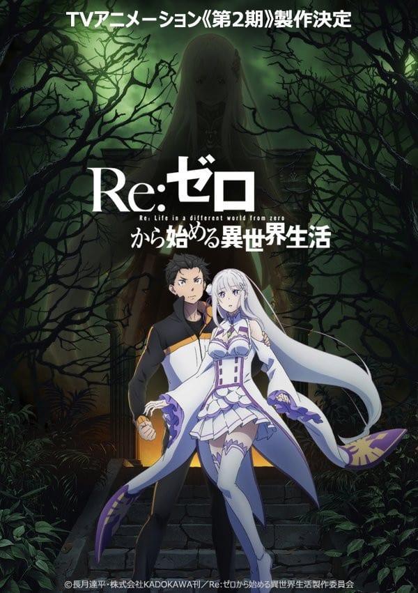 Re:ZERO Season 2 Visual