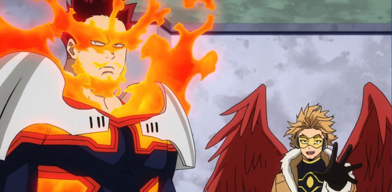 My Hero Academia Season 4 Episode 24: Japanese Hero Billboard Introduces Hawks!