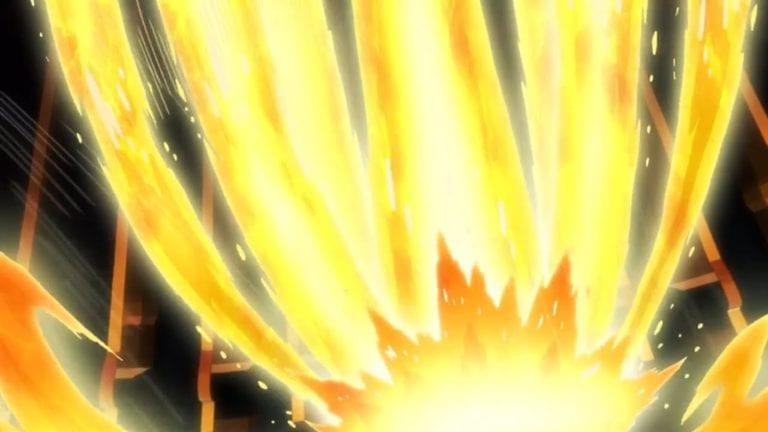 Bam unleashes the golden shinsu