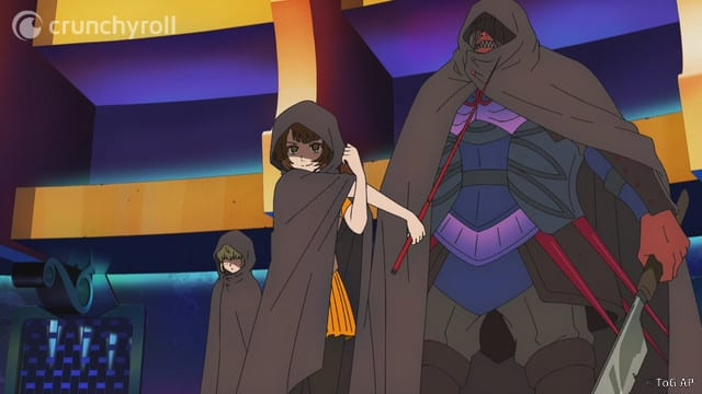 Rachel and her teammates Tower of God Episode 5