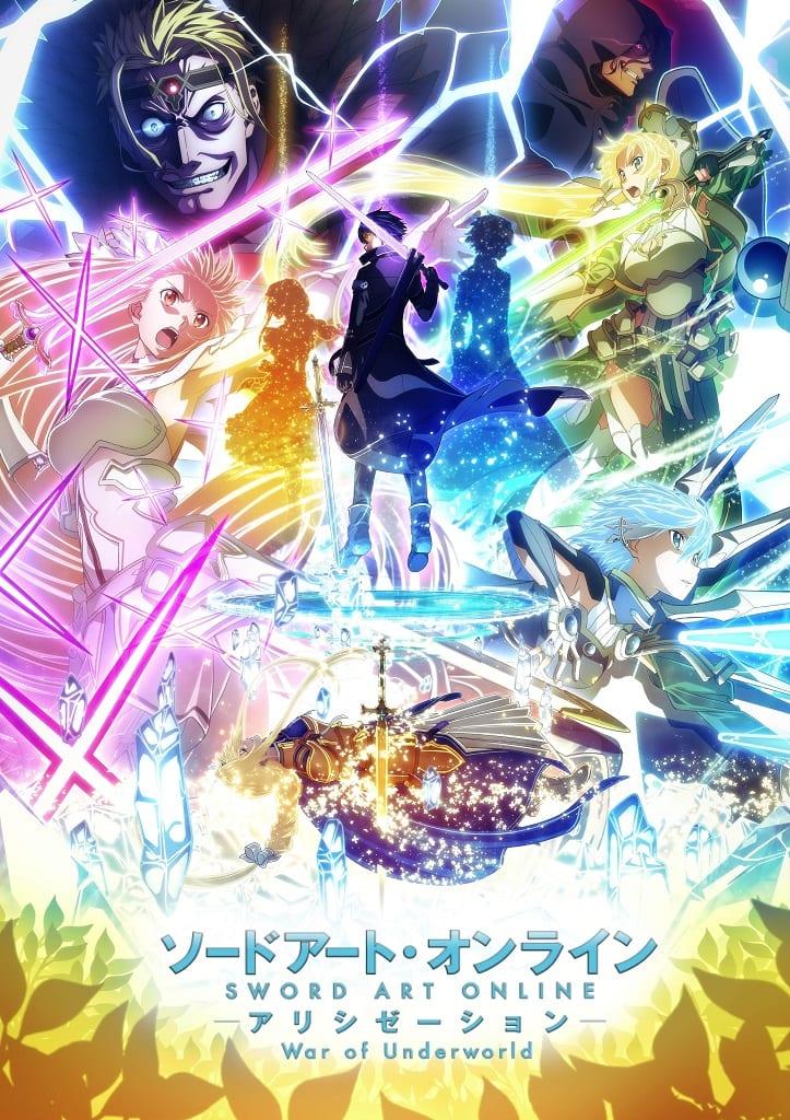 Sword Art Online Alicization War OF The Underworld Part 2 cover