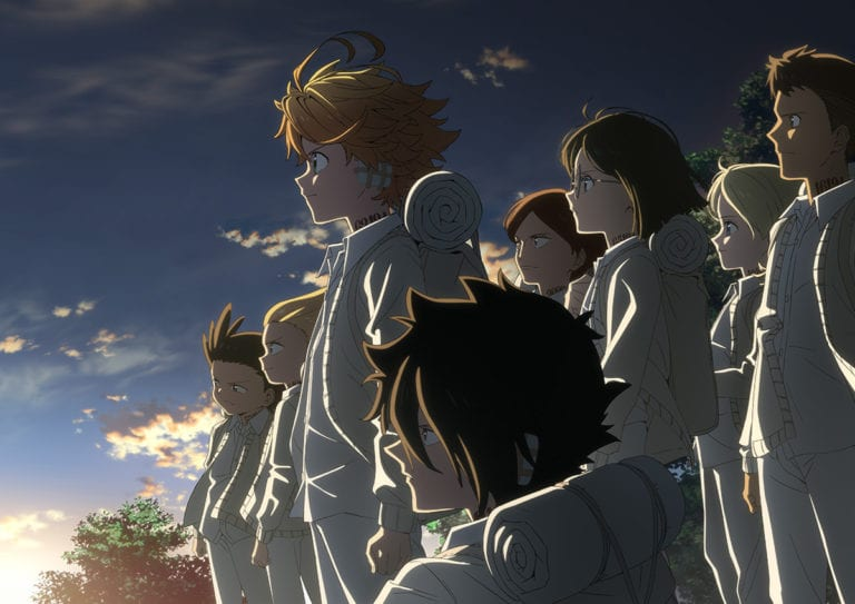 The Promised Neverland Season 2 cover