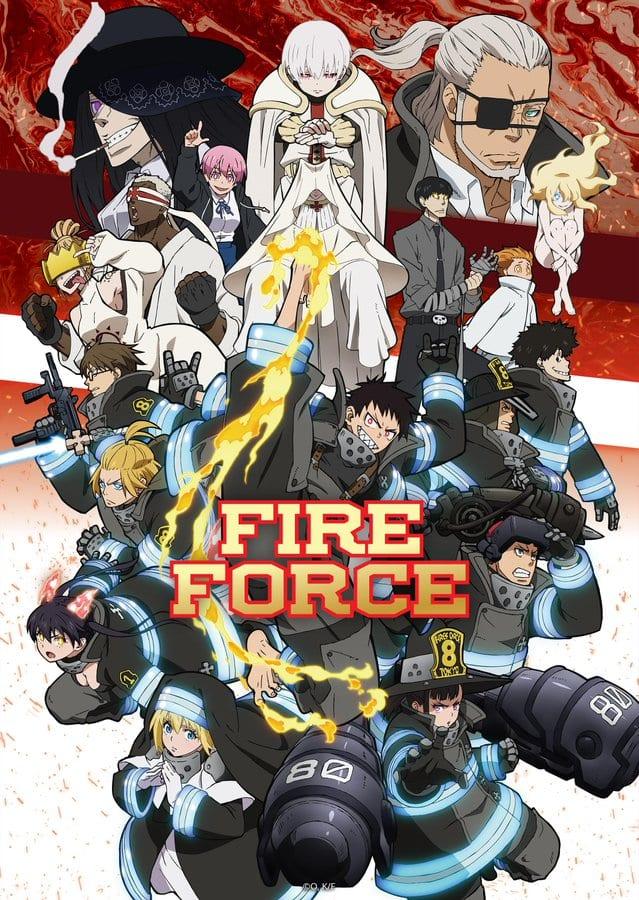 Fire force Season 2 Key visual