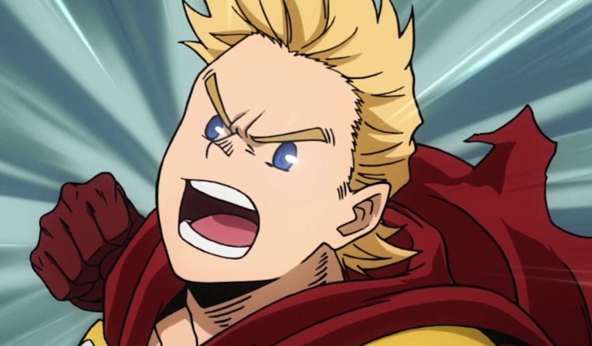 Mirio Togata a.k.a Lemillion from My Hero Academia
