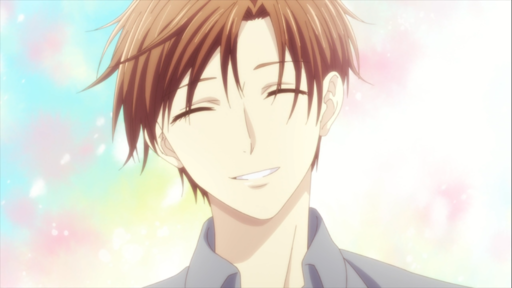 Kureno Sohma Smiles in Fruits Basket Season 2 Episode 5
