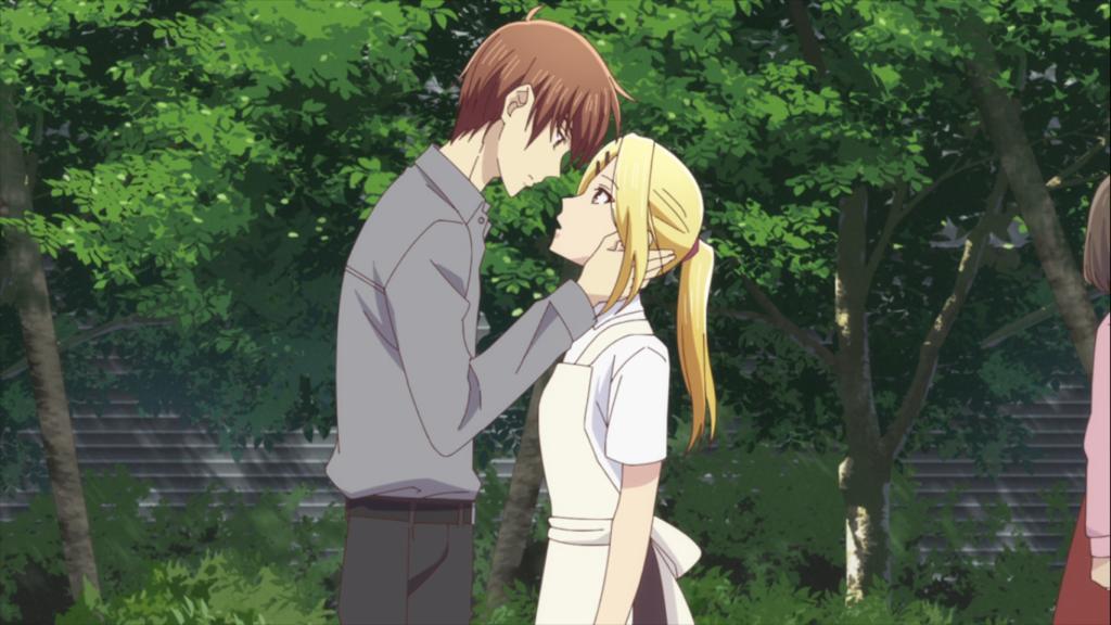 Arisa and Kureno share an emotional moment in Fruits Basket Season 2 Episode 5