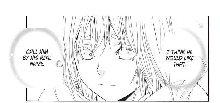 Amaterasu asks Kofuku to call Yato by his real name