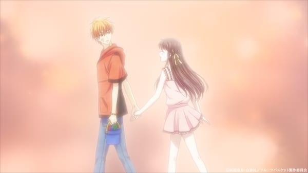Kyo & Tohru in Fruits Basket Season 2 Episode 9