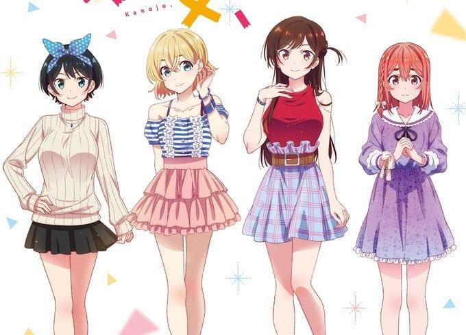 rent a girlfriend anime