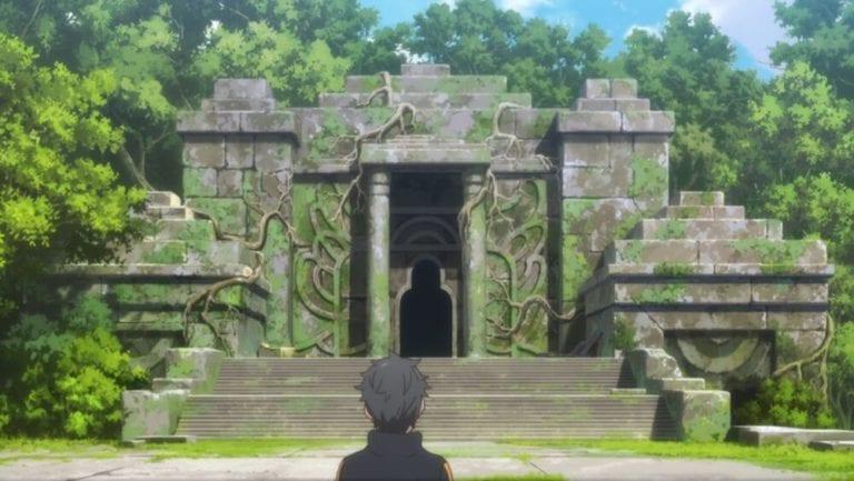 Echidna's tomb in the Sanctuary, Re:Zero