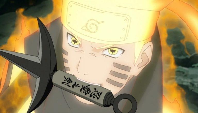 Naruto's sage of six paths mode