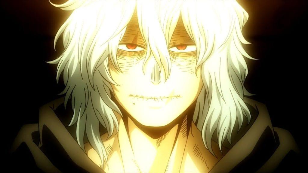 Shigaraki Tomura's face My Hero Academia