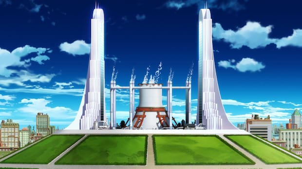Amaterasu Power Plant In fire force