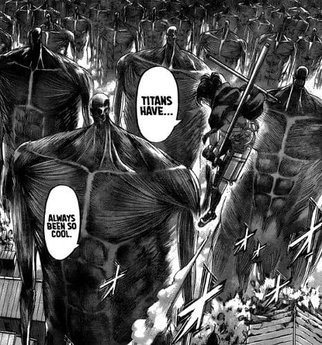 Attack on Titan chapter 132 Hange Zoe