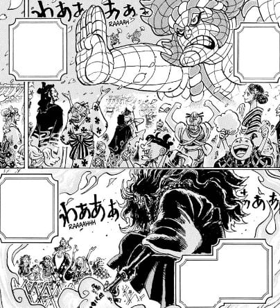 Nio Statue foreshadowing to Luffy defeating Kaido?
