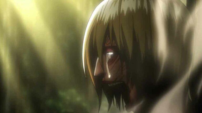 Annie-crying