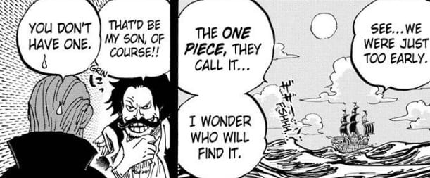 They were early to reach the One Piece