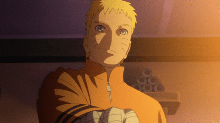 Hokage Naruto in Boruto Movie