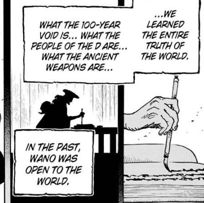 Wano was once open