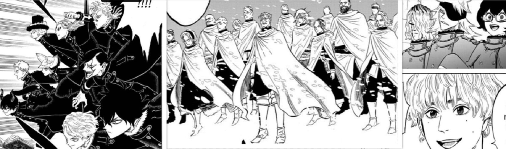 Black Clover Chapter 274: New Players In The Battle Against The Spade Kingdom And Megicula