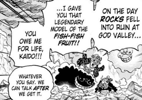 Big mom gave Kaido Fish Fish Devil Fruit