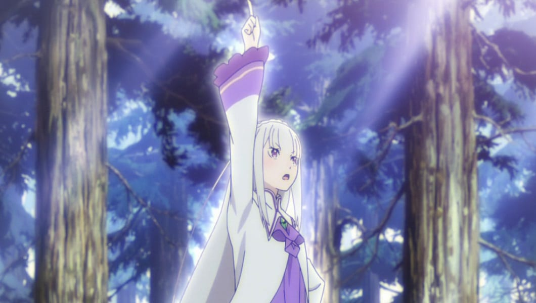 Emilia pulls off a Natsuki Subaru