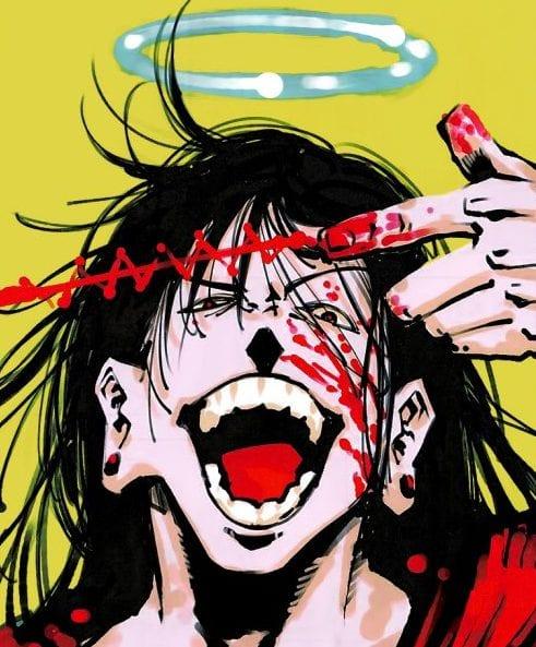 Getou in Jujutsu Kaisen chapter 90 cover