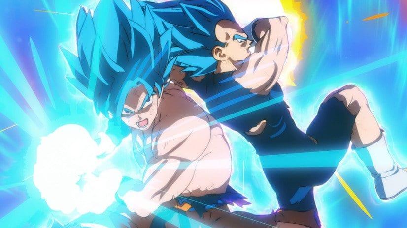 Goku Vegeta SSB