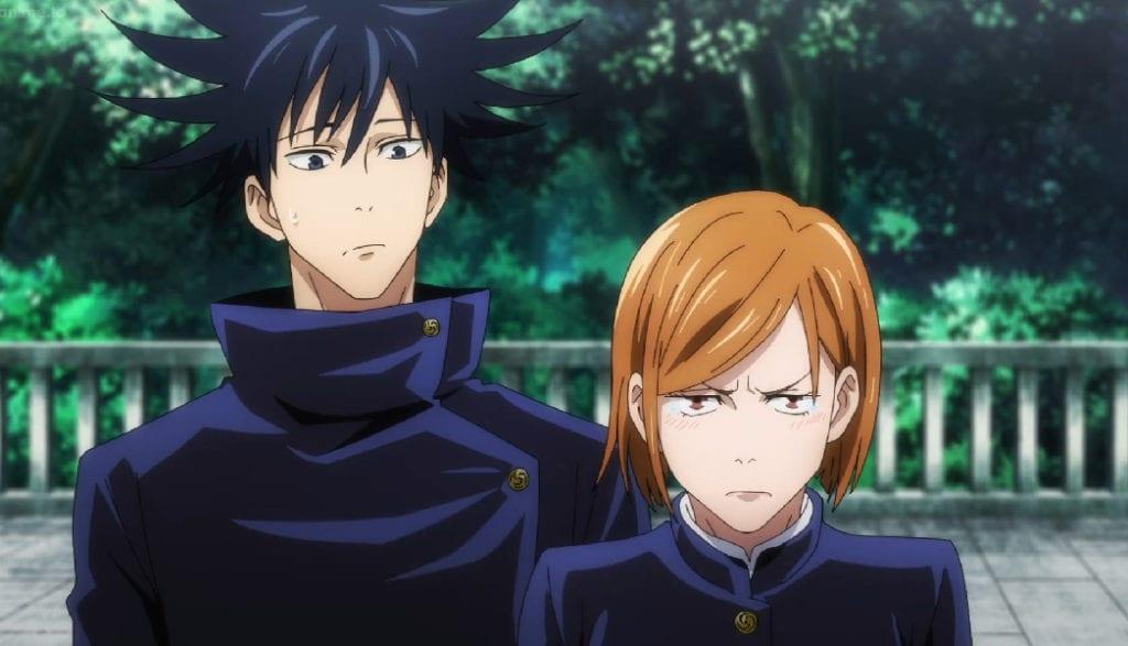 Megumin and Nobara reunite with Itadori