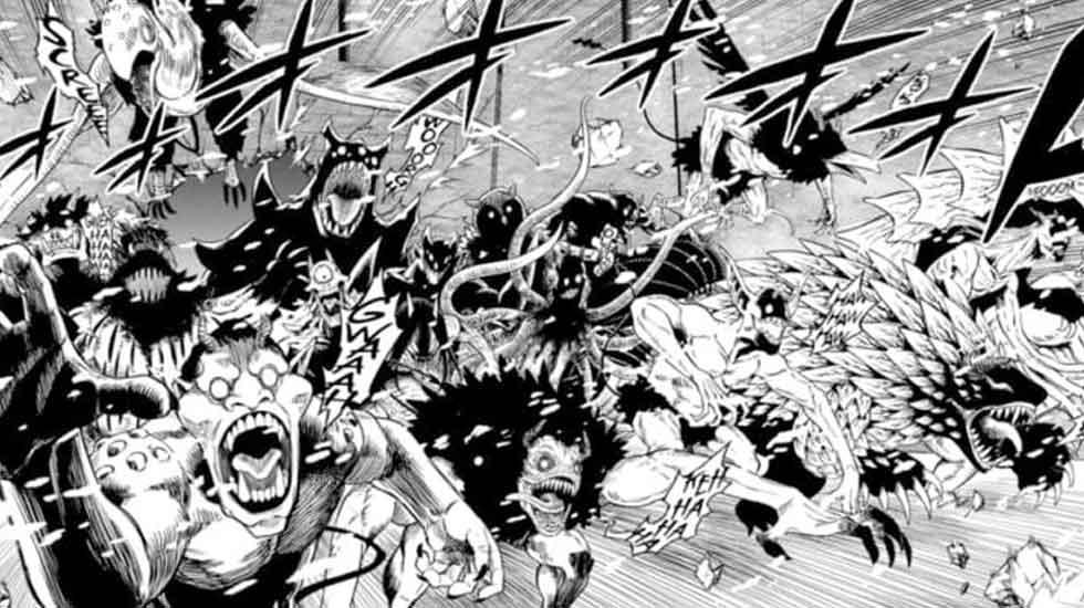 Black Clover: The Dark Triad Unleashes 100% Devil Powers