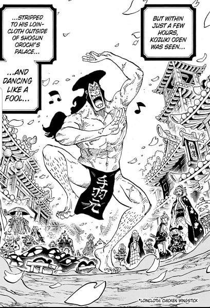 Oden Dance in Wano