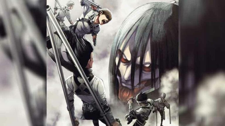 AOT Manga Volume Cover 33