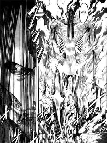 Eren new titan form
