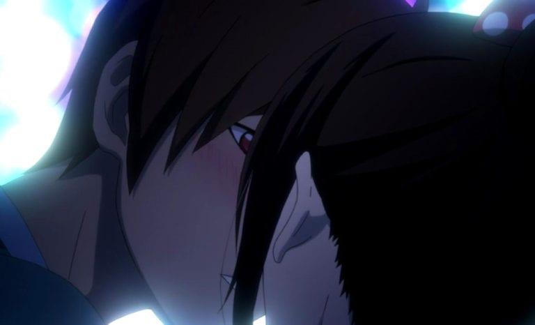 Father kisses Hiyori Noragami