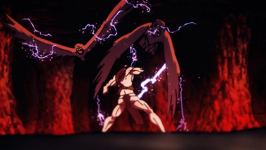 Nue vs Cursed Womb in Ten Shadows Technique's domain - Chimera Shadow Garden