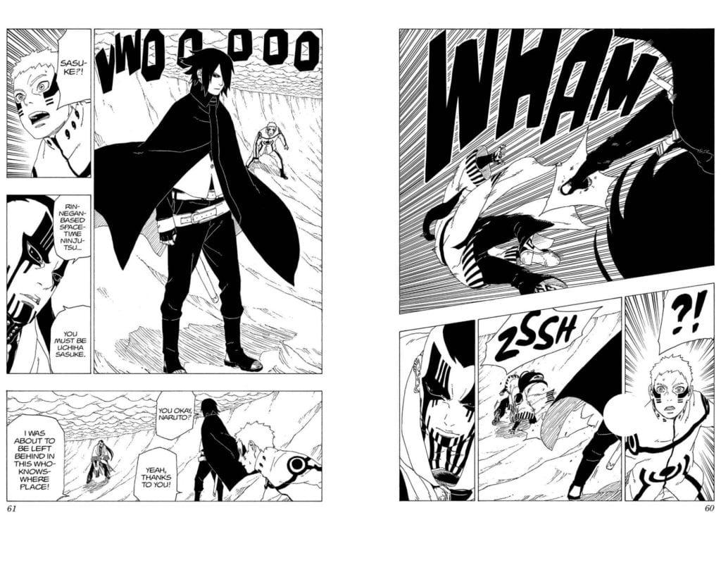 Space Time Ninjutsu Sasuke