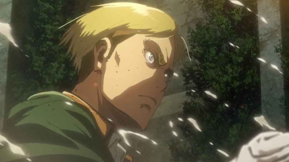 What If Erwin Was Chosen Instead Of Armin In Attack On Titan