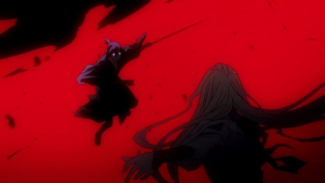 Yato Kills Bishamon Shinki in Noragami