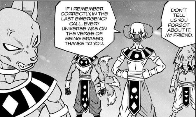 An action of Beerus almost resulted in the entire Multiverse's destruction