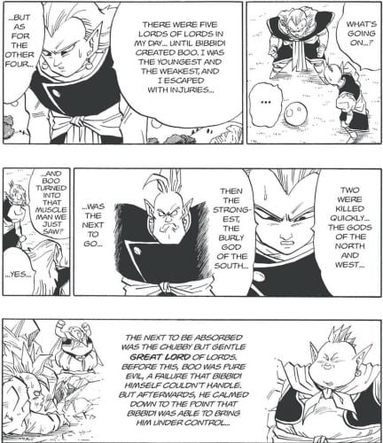 Kibito Kai mentions the 5 Supreme Kais who were existing in the past