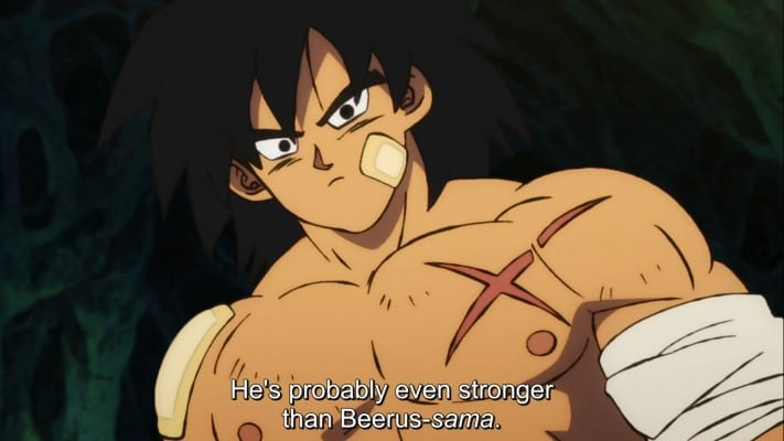 Broly might be stronger than Beerus