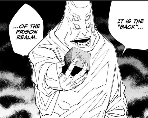 Tengen gives prison realm to help unseal Gojo Satoru