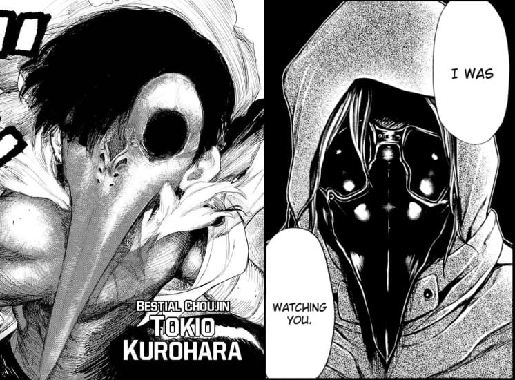 comparing the looks of Tokio Kurohara and Kenji Yomo