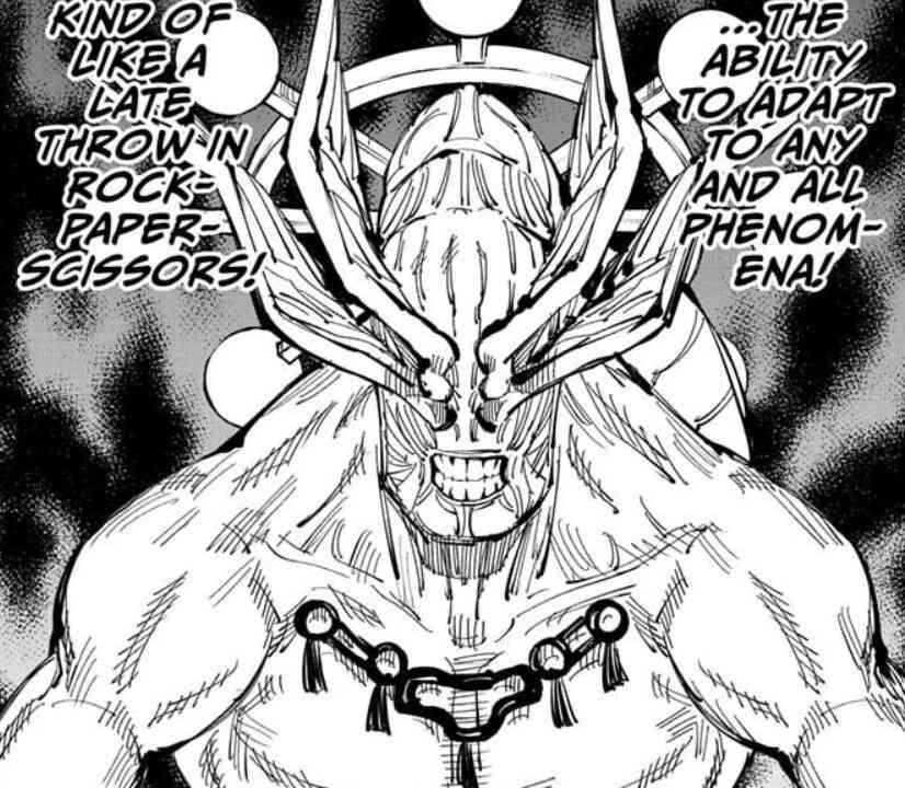 Jujutsu Kaisen Manga, Chapter 118