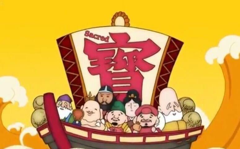 Shichifukujin-seven lucky gods