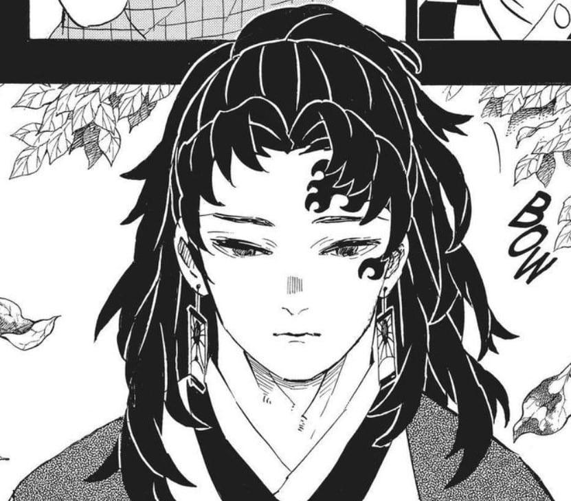 Demon Slayer manga, chapter 186