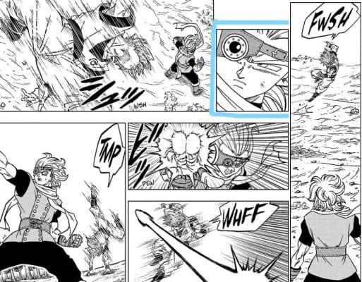 Granolah tracking SSB + UI Goku's movements