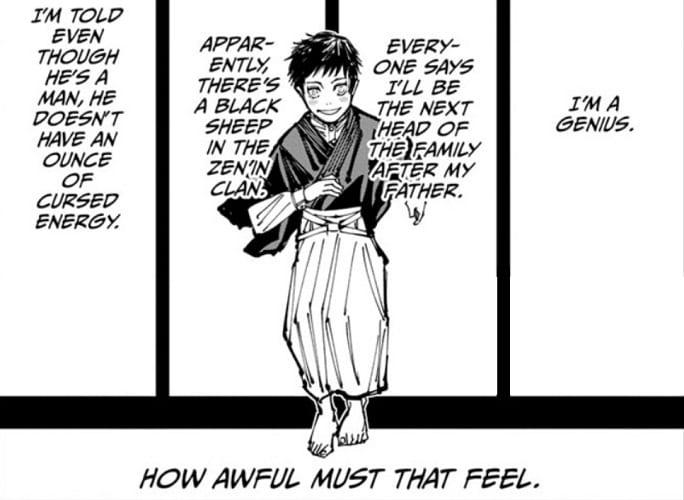 JJK chapter 151 gives a glimpse into Naoya's past
